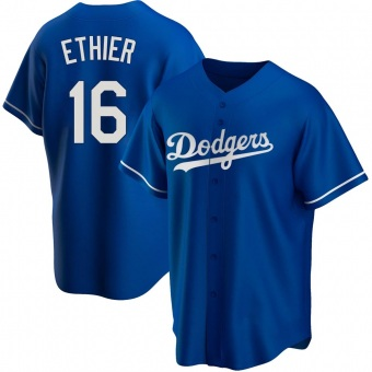 Youth Andre Ethier Los Angeles Royal Replica Alternate Baseball Jersey (Unsigned No Brands/Logos)