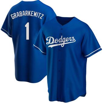 Youth Billy Grabarkewitz Los Angeles Royal Replica Alternate Baseball Jersey (Unsigned No Brands/Logos)