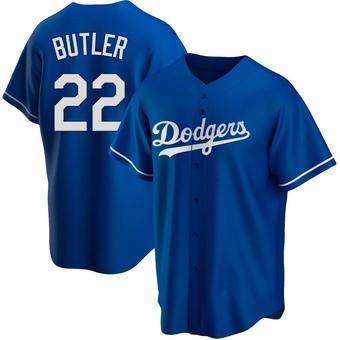 Youth Brett Butler Los Angeles Royal Replica Alternate Baseball Jersey (Unsigned No Brands/Logos)